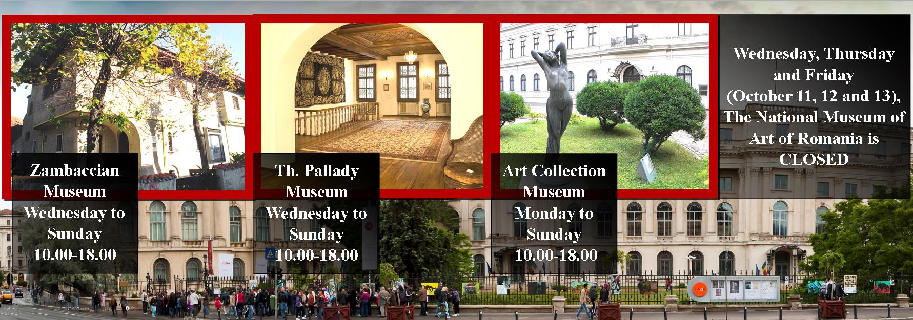 9-13 OCTOBER SPECIAL OPENNING PROGRAMME