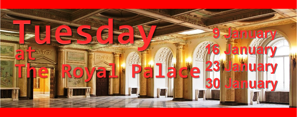 The former Royal Palace is open every Tuesday