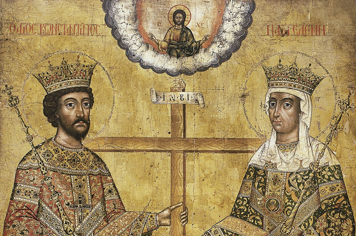 Icon – Saints Constantine and Helena