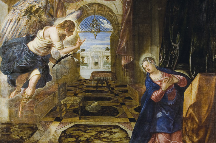 Tintoretto – The Annunciation