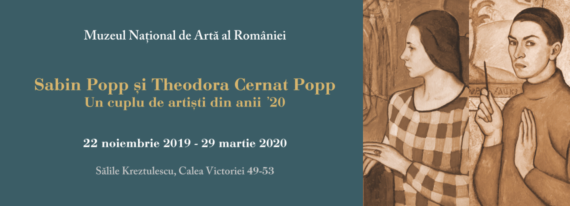 """Sabin Popp and Theodora Cernat Popp"" - Temporary Exhibition"